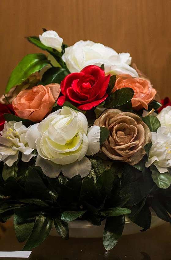 В Доме мастеров работает выставка «Цветочный калейдоскоп»