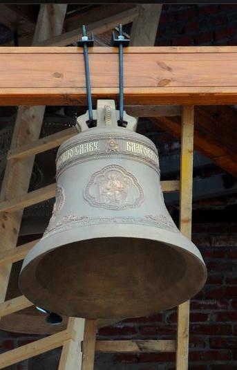На Кафедральном соборе Александра Невского в Кирове установили колокола