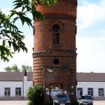 Старинная водонапорная башня козельск