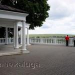 Смотровая площадка в Городском парке козельск