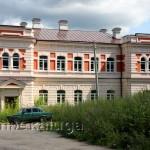 Здание, где в начале XX века находился полицейский участок и казначейство козельск