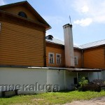 Здание Козельского краеведческого музея (со двора) козельск
