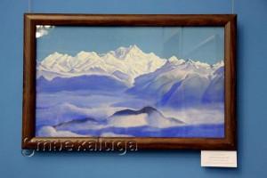 Рерих Н. К. Гималаи (Голубые горы). 1939 год в калуге