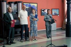 Актёры Литературно-поэтического театра прочли отрывки из писем Рериха калуга