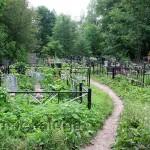 Городское кладбище таруса