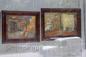 Выставка «Интерьер в живописи калужских художников» калуга