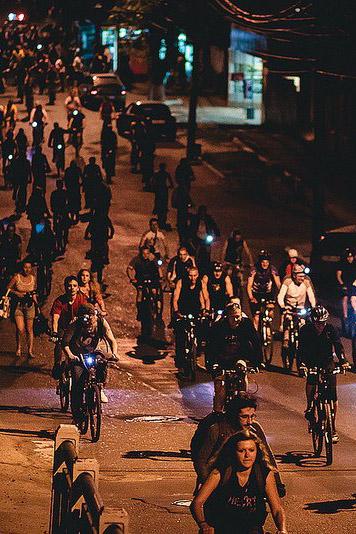 21 августа по улицам Калуги пройдёт открытый Ночной велопробег, посвящённый Дню города