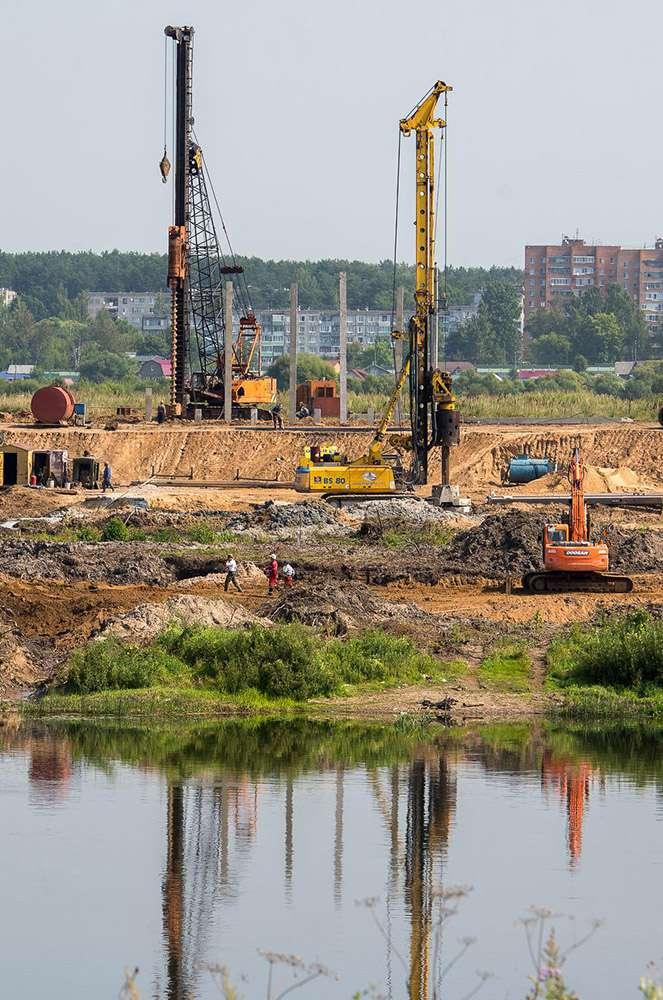 Началось строительство третьего моста через Оку
