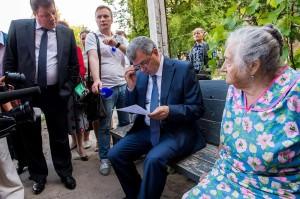 Встреча с жителями микрорайона Калуга - 2 калуга