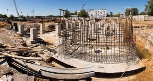 Строительная площадка будущего городского рынка калуга