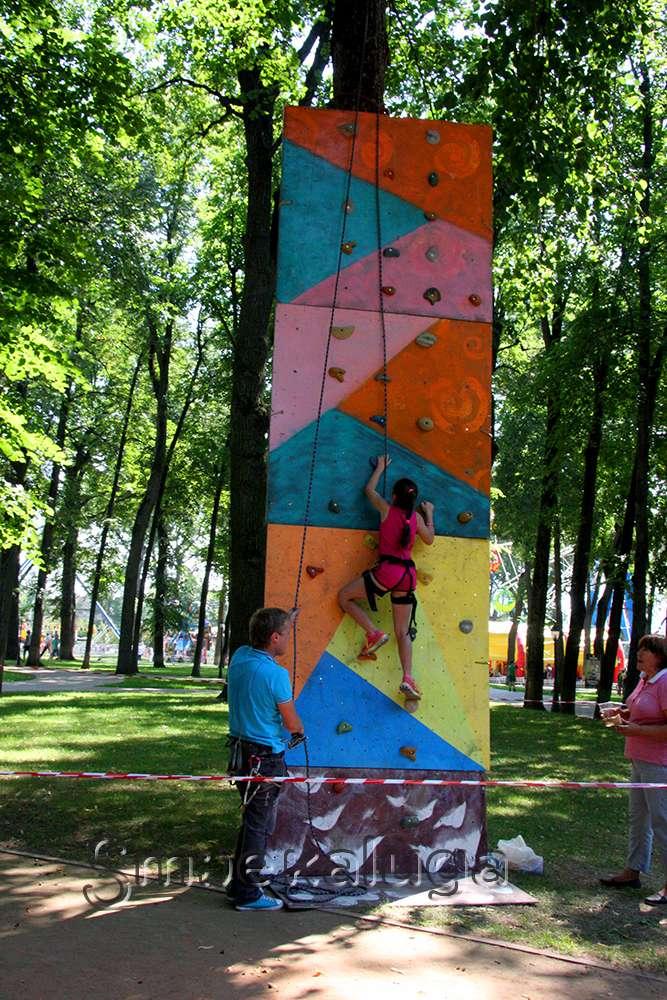 В День физкультурника Центральный парк культуры и отдыха стал «спортивным центром»