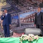 Анатолий Артамонов и Александр Беглов калуга