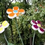 Цветы в сквере Ленина