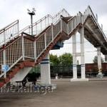 """Мост на вокзале """"Калуга - 1"""" калуга"""