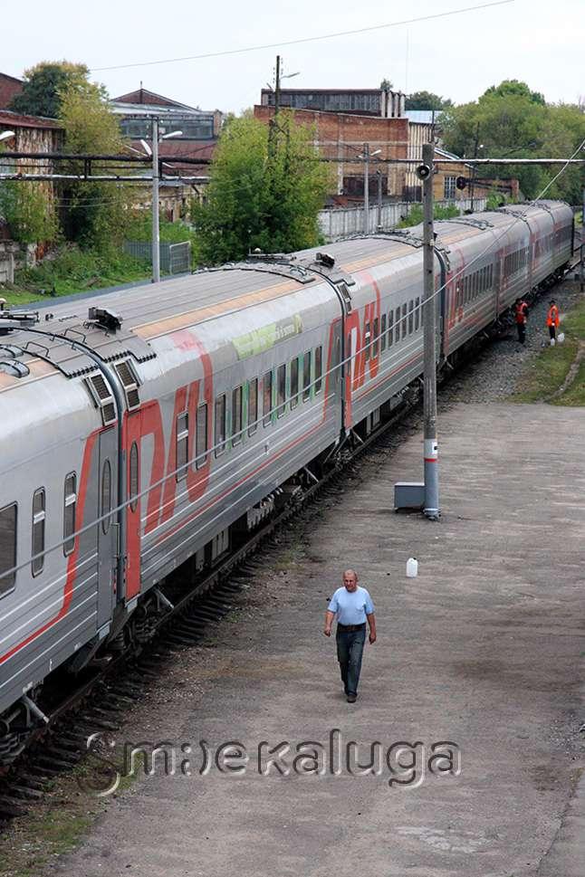 В Калугу прибыл Поезд-музей