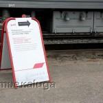 Указатели к Поезду-музею