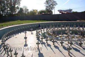 Новый светомузыкальный фонтан калуга