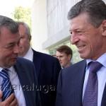 Дмитрий Козак и Анатолий Артамонов