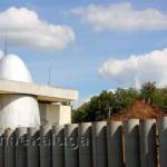 Строительная площадка второй очереди музея истории космонавтики