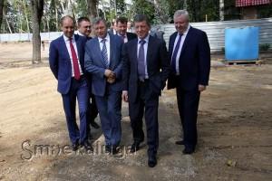 Рабочий визит заместителя Председателя Правительства Российской Федерации Дмитрия Козака калуга