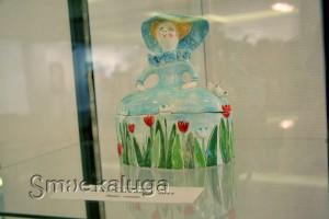 О. Матвеева. Шкатулка «Дама в шляпе». 2015 год калуга