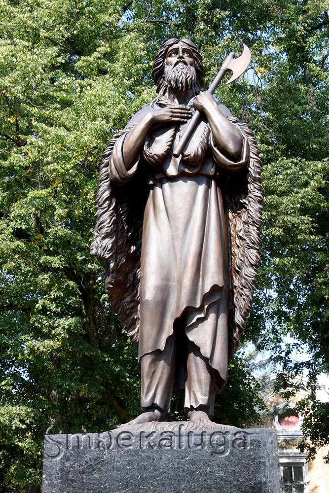 У Свято-Троицкого собора открыли памятник святому праведному Лаврентию Калужскому