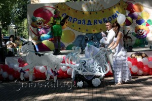 """Семья Басовых. Коляска """"Снежная королева"""" калуга"""