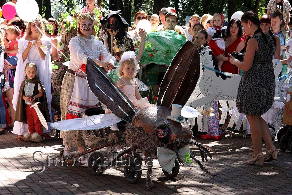 Праздник «Город детства» объединит Парад колясок, детские шоу и дискотеку