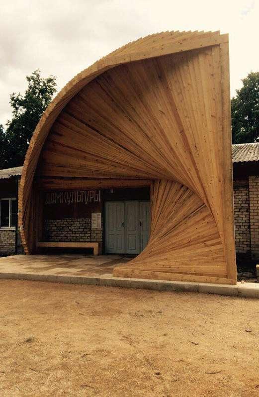 Архстояние – 2015: деревня Звизжи получила четыре арт-объекта