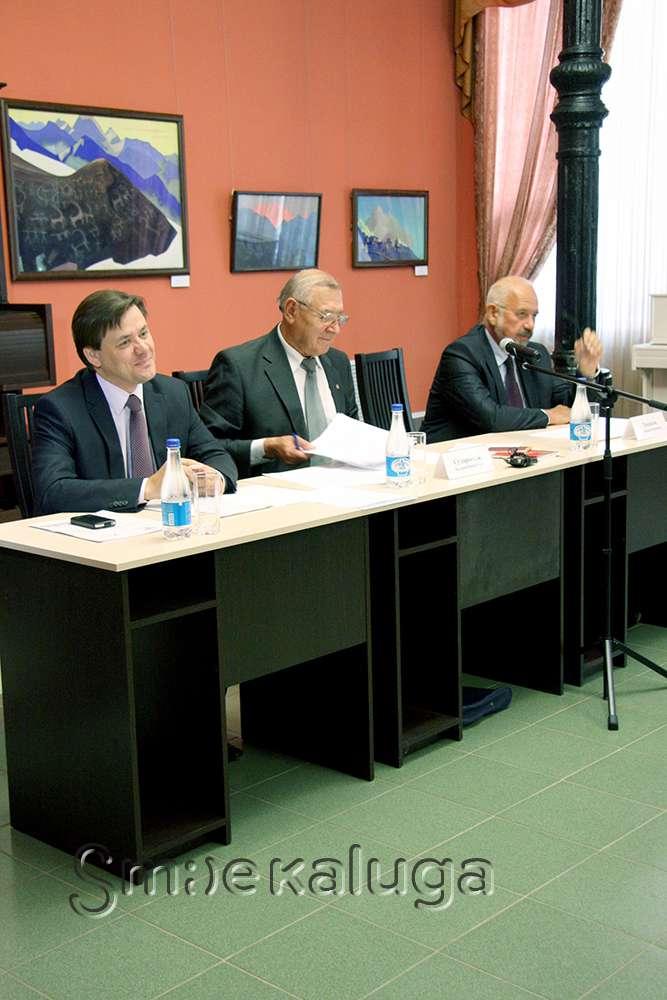 В Калуге рассмотрели перспективы реализации Указа Президента РФ «Об утверждении основ государственной культурной политики» в регионе