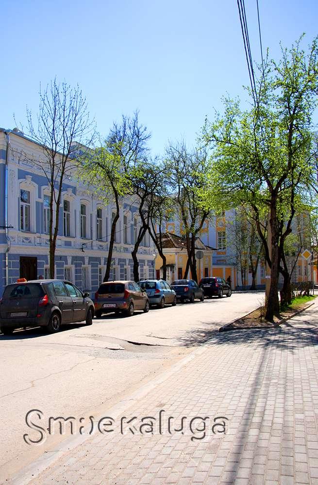 Калужская ЦБС приглашает на бесплатную экскурсию по улице Воскресенской
