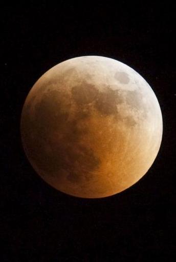В ночь на 28 сентября в Калуге можно будет наблюдать полное лунное затмение
