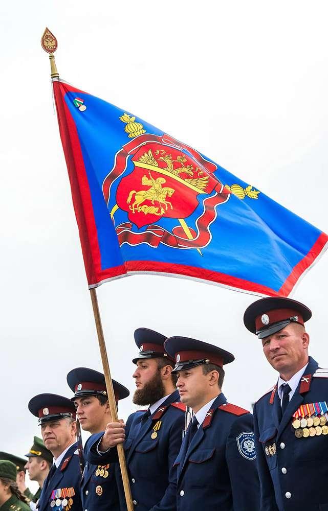 В селе Дворцы прошёл военно-исторический праздник, посвящённый 535-летию Великого Стояния на Угре