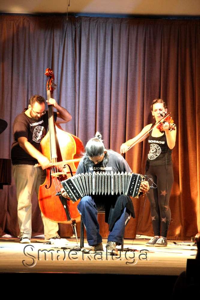 Юбилейный фестиваль «Калужская осень» завершился выступлением танго-оркестра из Аргентины El Cachivache Quinteto