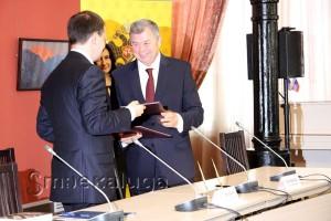 Подписание Соглашения калуга