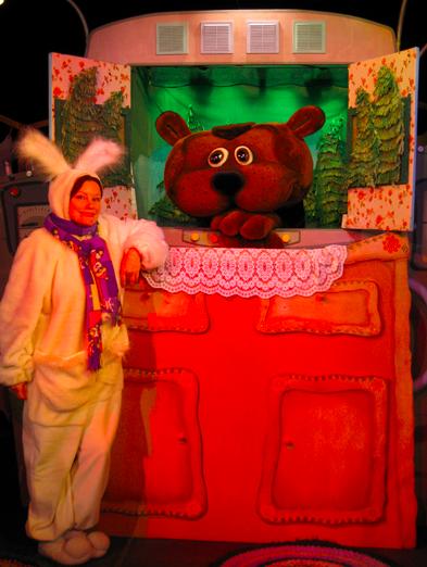 Спектакль «Колобок» в Калужском театре кукол