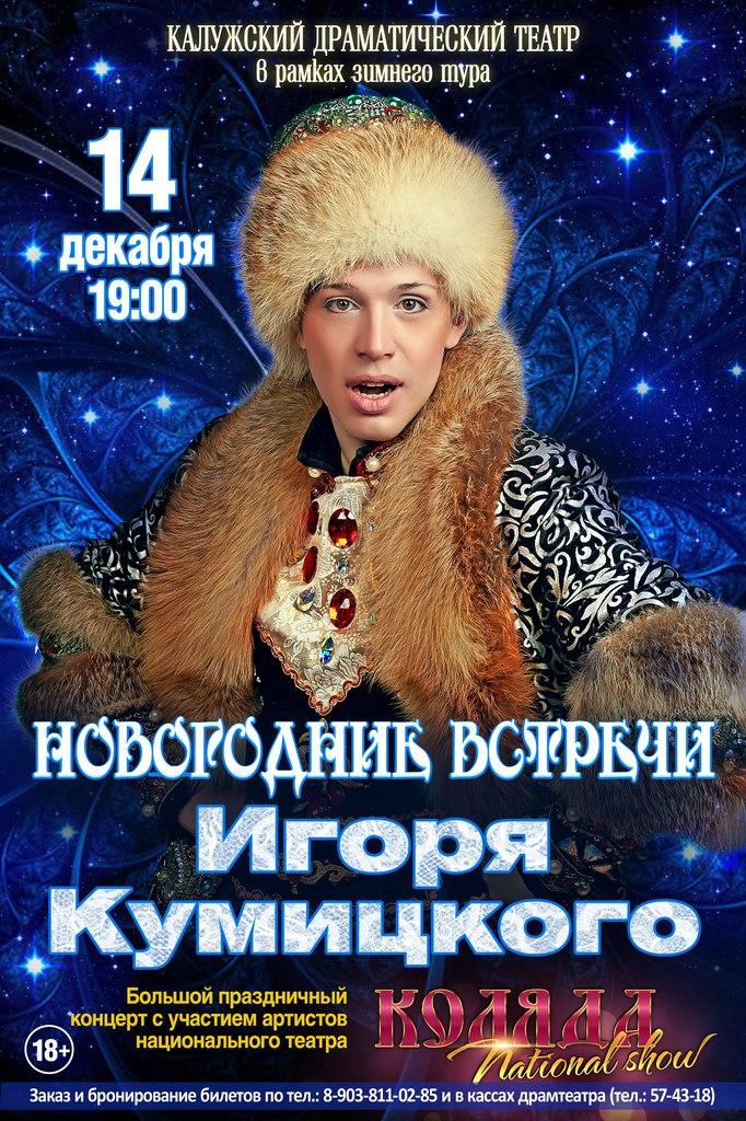 Новогодние встречи Игоря Кумицкого