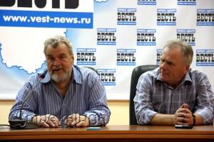 Слева направо: Михаил Визгов, Владимир Обухов калуга
