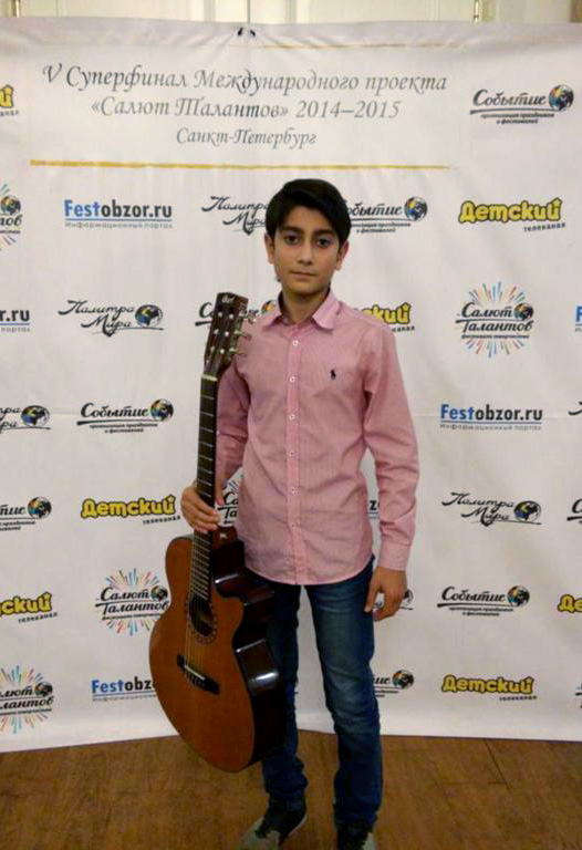Ученик ДШИ №2 им. С. С. Туликова стал лауреатом «Салюта талантов» в Санкт-Петербурге