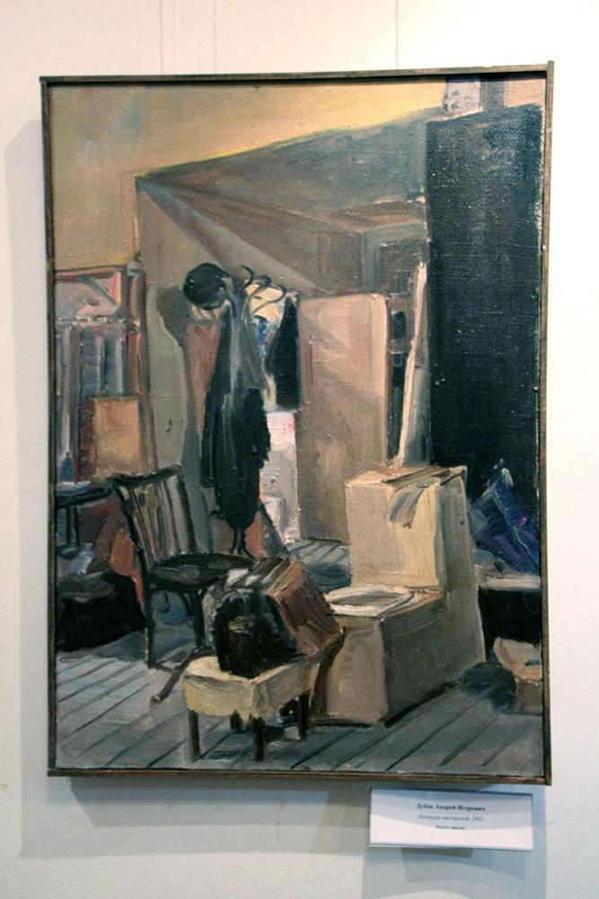 В Калужском музее изобразительных искусств проходит выставка живописи Андрея Дубова
