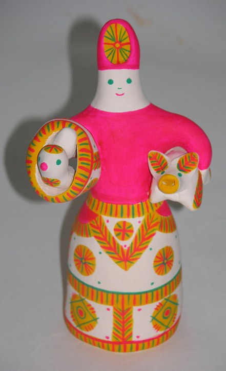В Доме мастеров выставлена коллекция филимоновской игрушки
