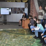 В музее истории космонавтики калуга