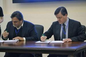 подписание соглашений
