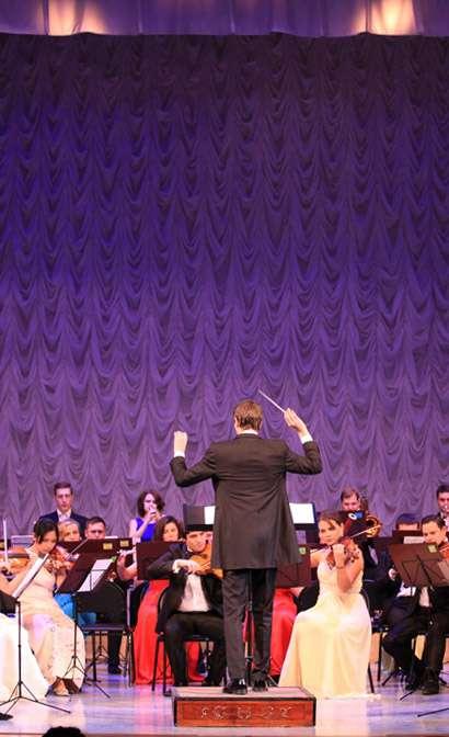 Калужскому молодёжному симфоническому оркестру исполнился год