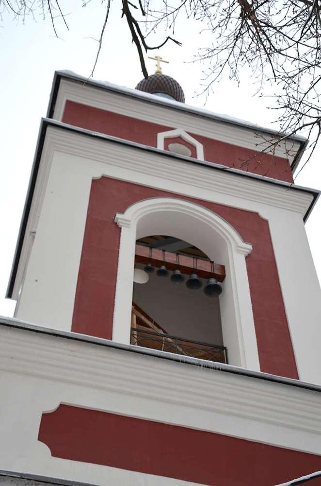 На колокольне Калужского храма архистратига Михаила появились колокола