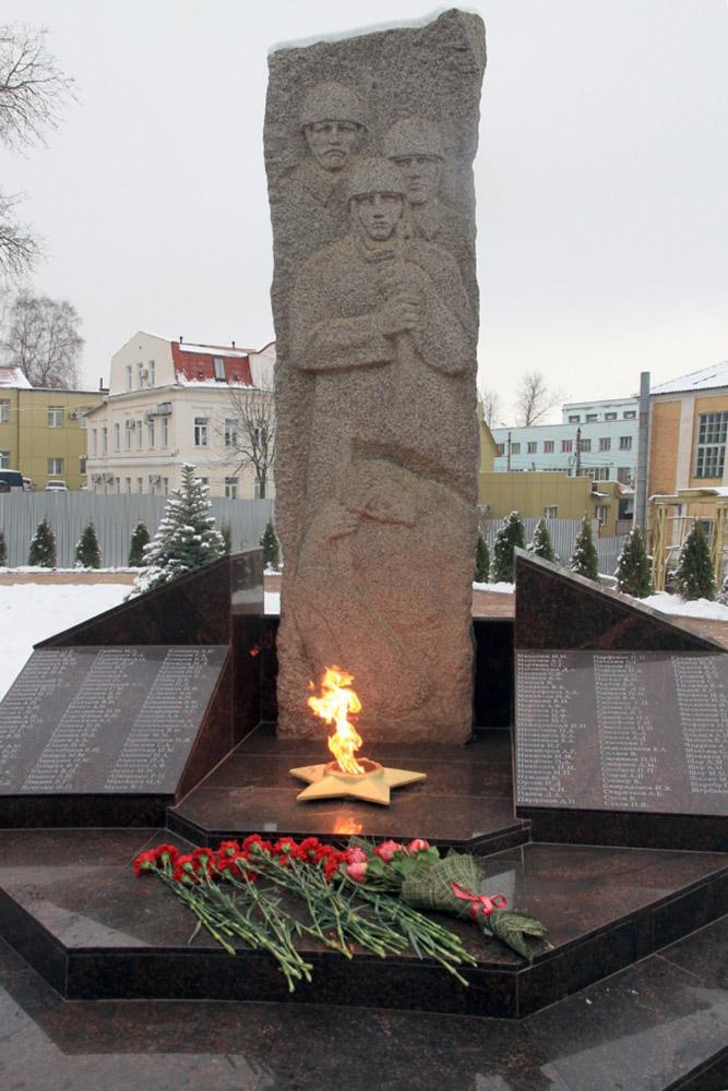 На территории КЭМЗ появился мемориал павшим в Великой Отечественной войне
