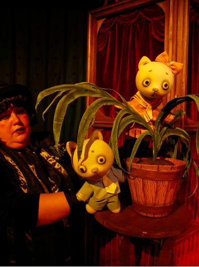 Спектакль «Кошкин дом» в Калужском театре кукол
