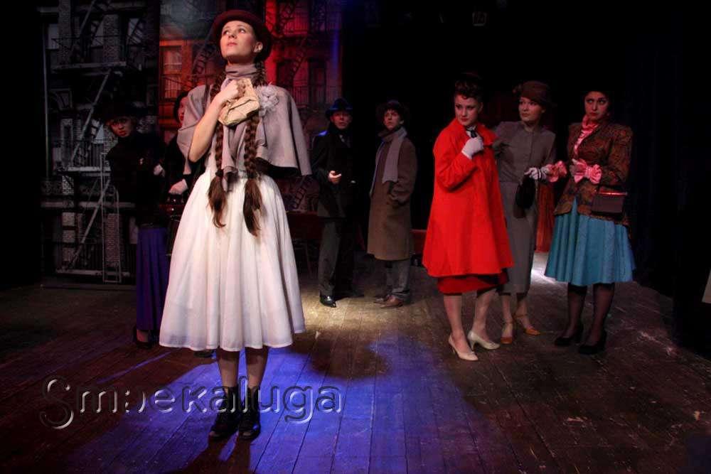 Драма «Любовь и деньги» в Калужском областном драматическом театре