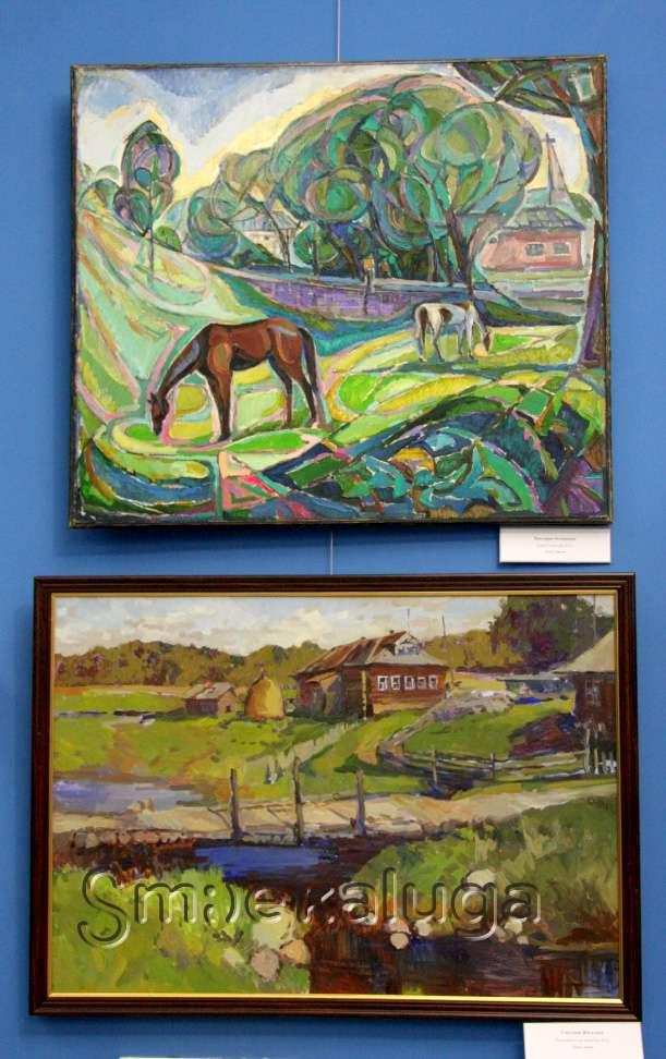 Выставка «Живописная мозаика» в Калужском музее изобразительных искусств