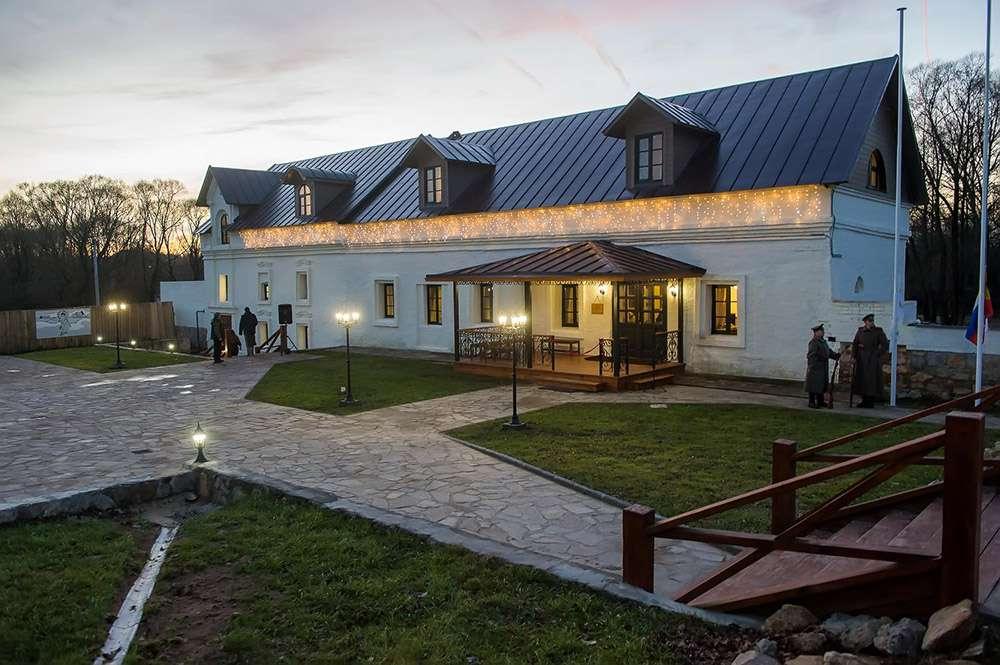 В музее-усадьбе Полотняный завод открылся первый гостевой дом